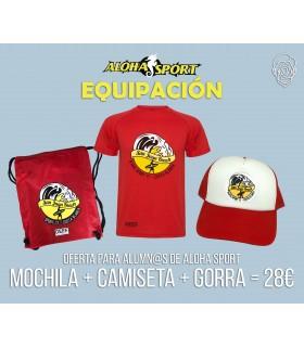 Camiseta + Mochila + Gorra