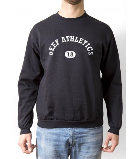 ATHLETICS SWEATSHIRT - BLACK