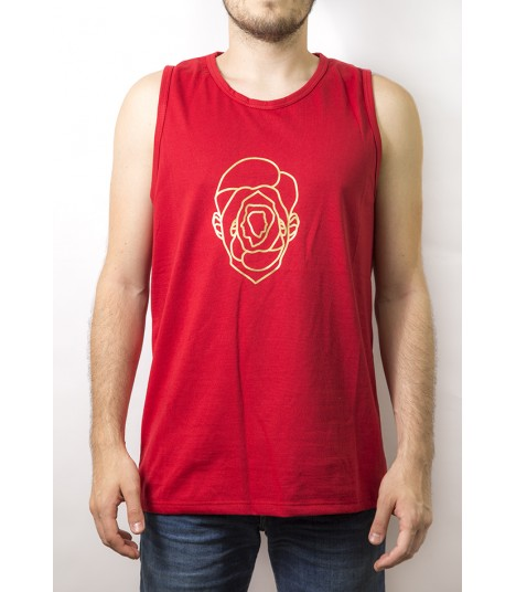 Camiseta de tirantes Sport Roja – Largo Clásico