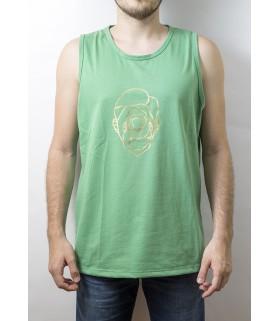 Camiseta de tirantes Sport Verde – Largo Clásico