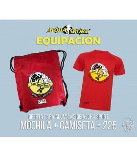 Camiseta + Mochila