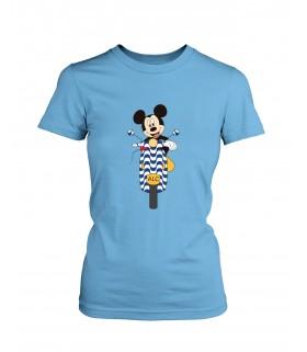 Camiseta DEEF ALICANTE Moto moderna Chica