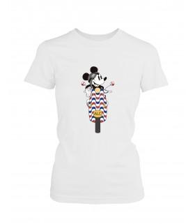 Camiseta DEEF ALICANTE Moto clásica chica