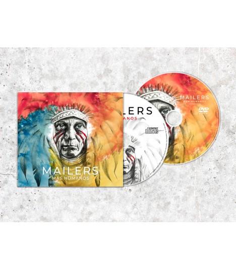 Mailers - Humanos - CD + DVD
